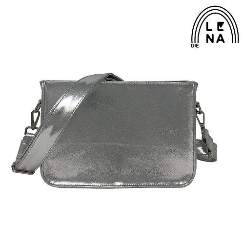 Taschenkörper silber glänzend