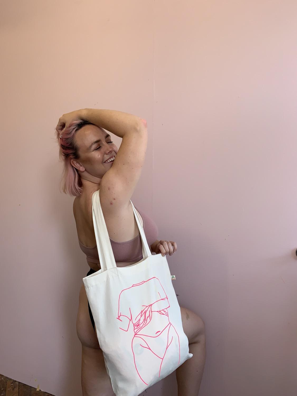 Bag canfas Tenovus