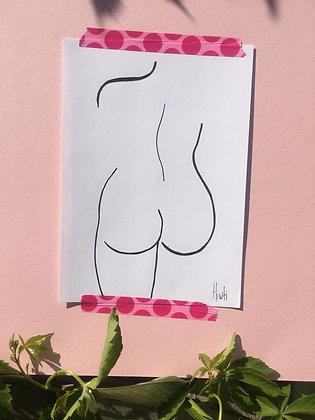 A3 Nude