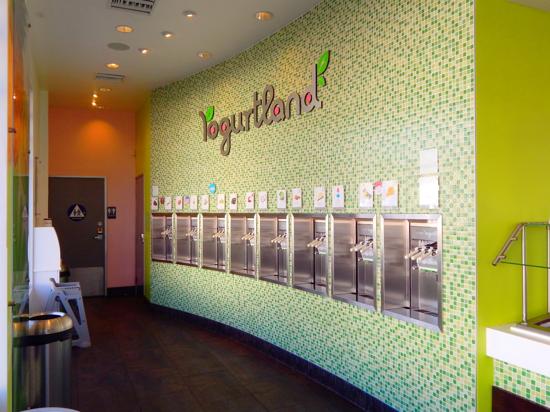 Yogurtland remodel