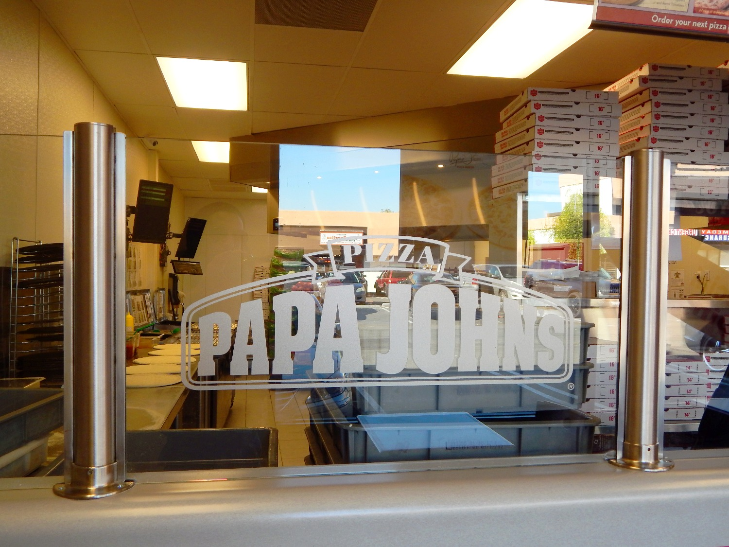 Papa John's tenant improvement