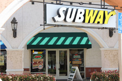 Commercial construction for Subway