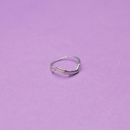 """Кольцо """"Волна"""" (серебро)"""