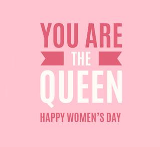 С нашим праздником, девочки!