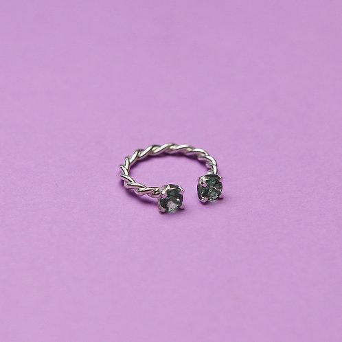 Витое кольцо (2 наноситала)