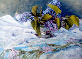 Lilacs in Silver