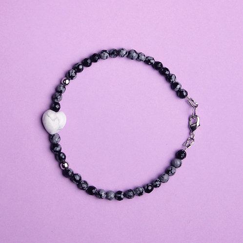 Браслет Valentine Obsidian