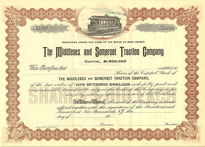 The Middlesex and Somerset Traction Company