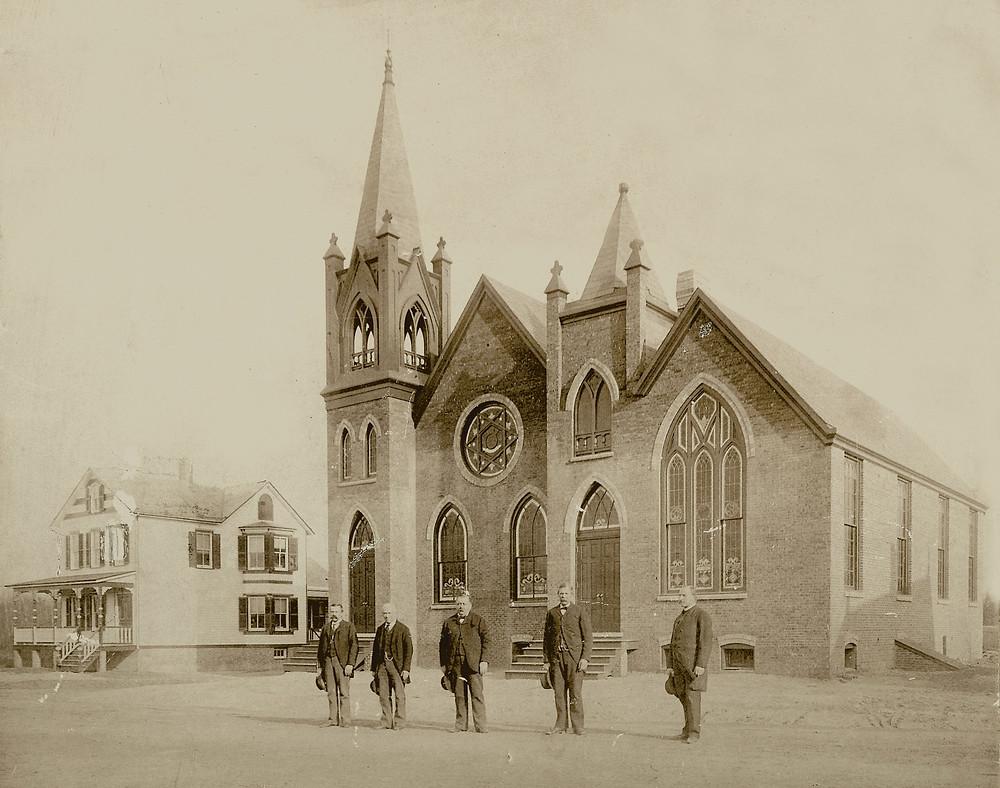 New German Church in Upper Sayreville