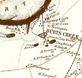 Burt's Creek, South Amboy