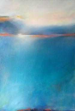 Meditation bleu