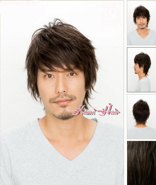 B00010 真髮製機製假髮 | 短假髮
