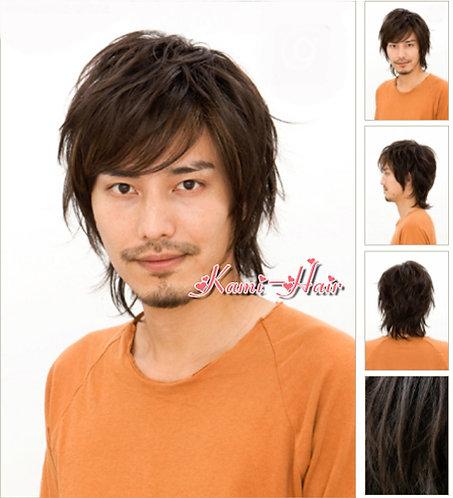 M0005 真髮製醫療假髮 | 短假髮