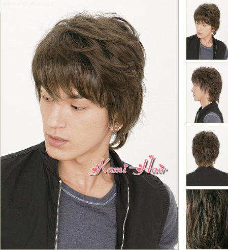 B0001 真髮製機製假髮 | 短假髮