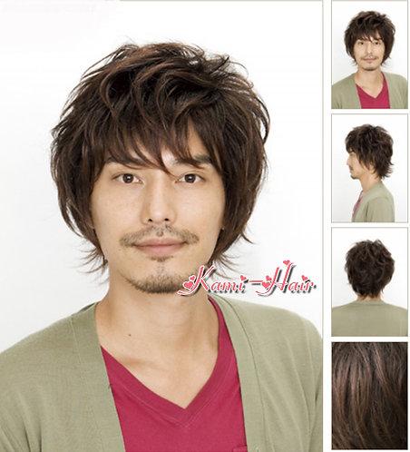 M0004 真髮製醫療假髮 | 短假髮