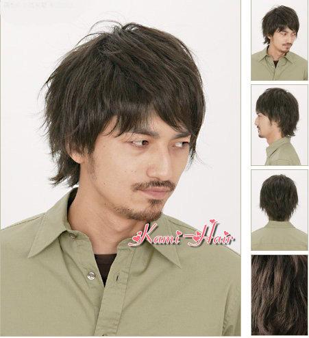 M0006 真髮製醫療假髮 | 短假髮