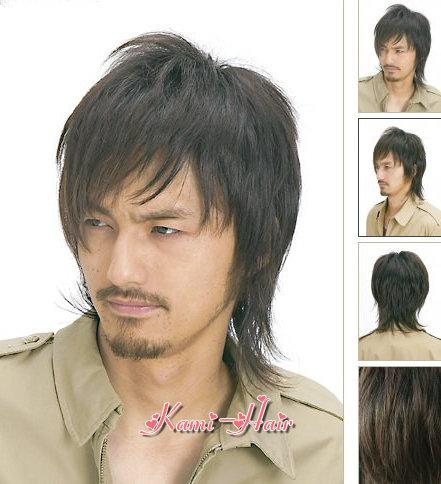 M0008 真髮製醫療假髮 | 短假髮