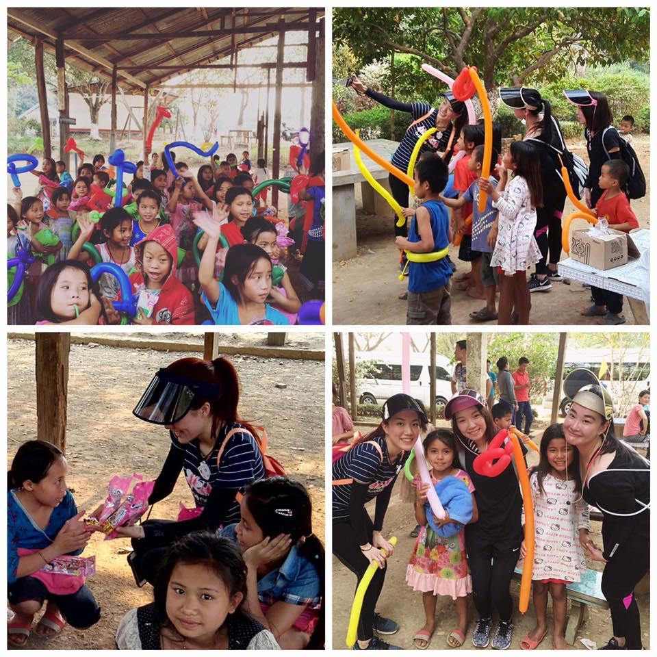 孤兒院探訪