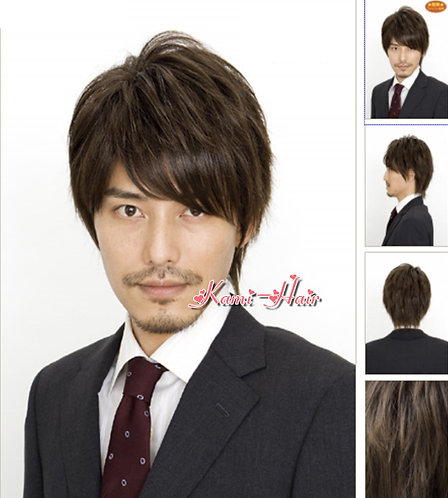 B0009 真髮製機製假髮 | 短假髮