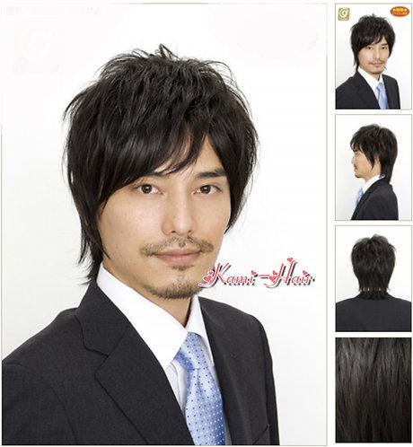 B0003 真髮製機製假髮 | 短假髮