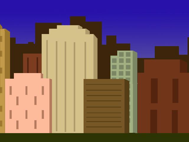pixel art cityscape 1