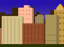 pixel art cityscape 4
