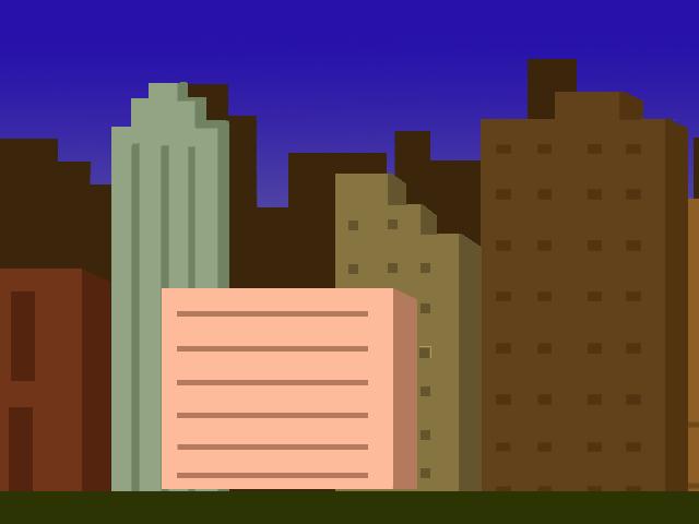 pixel art cityscape 2