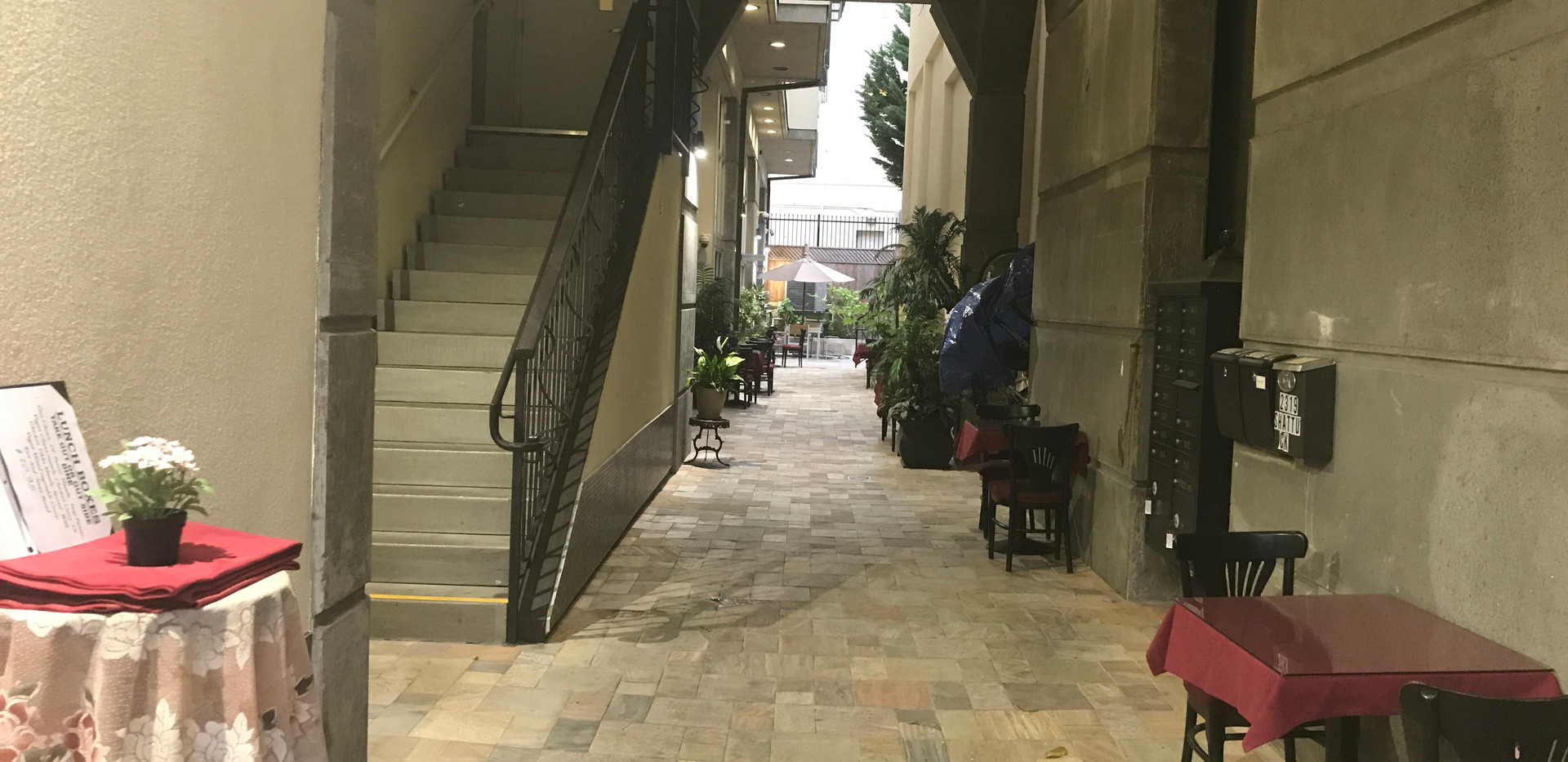 Path to Courtyard Patio