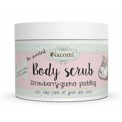 Body scrub - Strawberry-Guava pudding