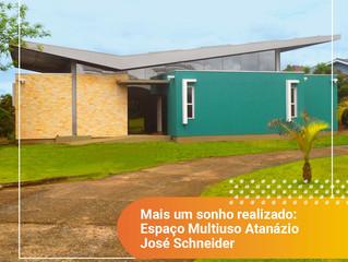 Inauguração espaço Multiuso Atanázio José Schneider