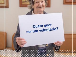 Quem quer ser um voluntário?