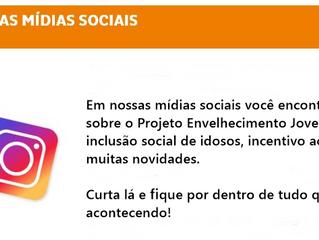 Siga nossas mídias sociais