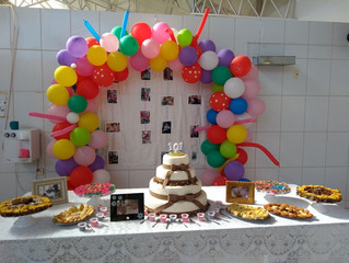 Parabéns aos aniversariantes!
