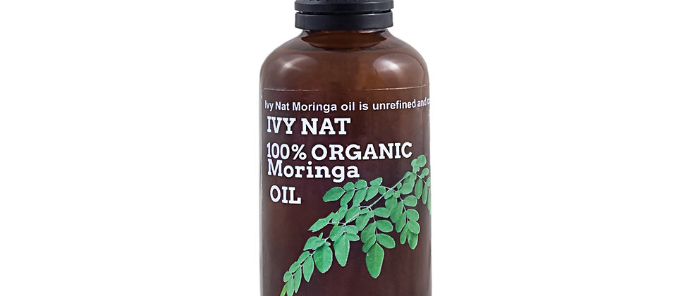 Pure Organic Cold-Pressed Moringa Oil 50ml