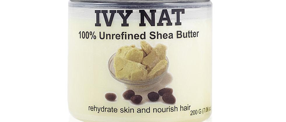 Unrefined Shea Butter  (200g)