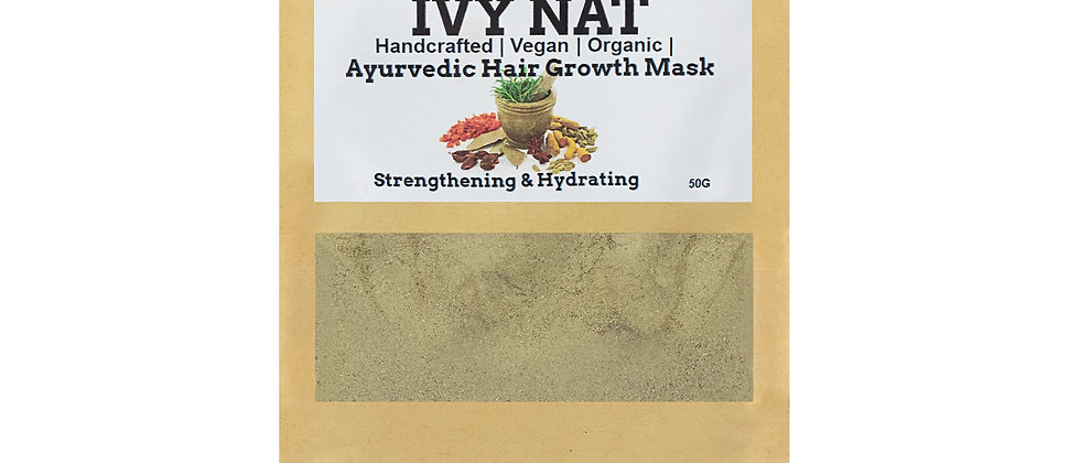 Ayurvedic Strengthening and Hydrating Hair Mask