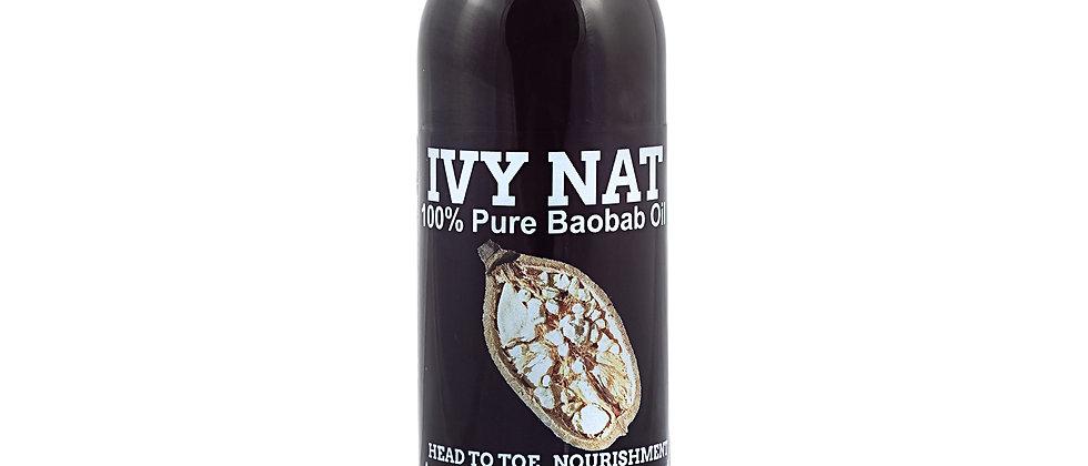 100% Pure Unrefined Cold Pressed Baobab Oil