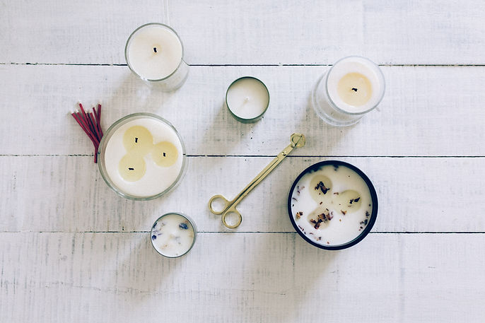 scented candle, kota candle, soy candle