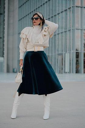 Nenette Velvet skirt