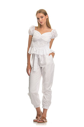 Twenty-29 trousers with embroidery T7512