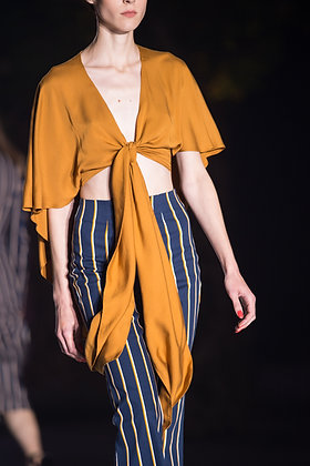 Cape Cropped Top