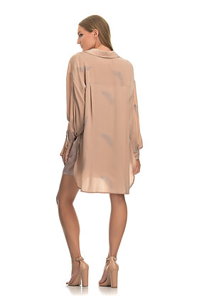 Tunica Stola loose shirt with leaves  2870