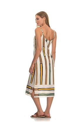 Anonyme designers midi dress with straps SD036