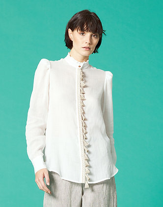 SHIRT WITH TASSELS
