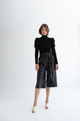 Twenty-29 eco leather cullotes