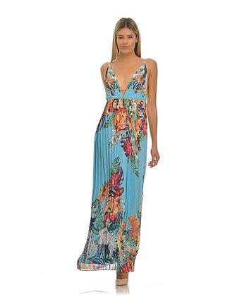 Forever Unique long floral dress AF1704