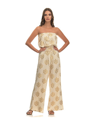 Kasia jumpsuit with embroidery T7864