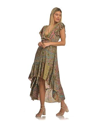 Piti Cuiti asymmetric long dress UMMA