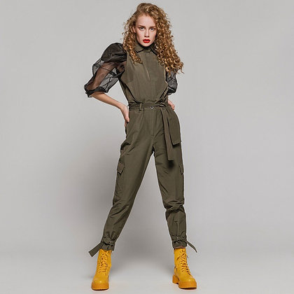 ACCESS Cargo trousers with belt