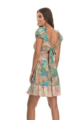 Twenty-29 tropical print dress T8006